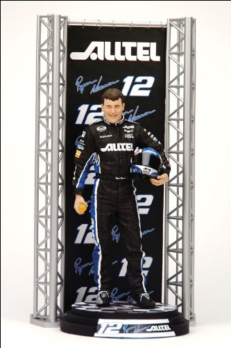 Mcfarlane Nascar Series 4 Specialty Action Figure - Ryan Newman #12