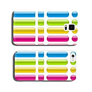 collection of blank colorful buttons cell phone cover case iPhone6