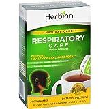 Herbion Naturals Respiratory Care Natural Herbal Granules Packets, Lemon, 10 Count
