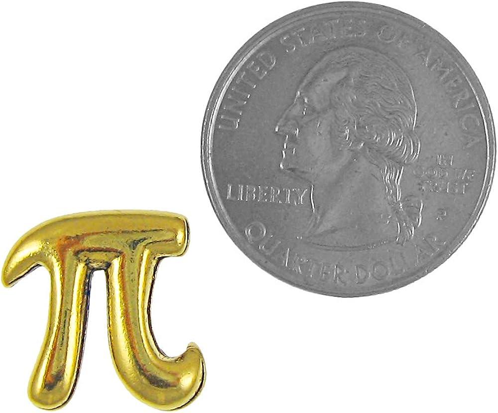 Jim Clift Design Pi Gold Lapel Pin