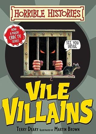 book cover of Vile Villains