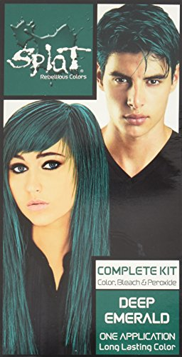 Splat Rebellious Colors Hair Coloring Complete Kit Deep Emerald