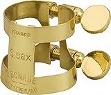 Bonade Soprano Saxophone Ligatures Lacquer - Inverted - Ligature Only