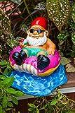 BigMouth Inc No se preocupe, sea feliz gnomo de jardín