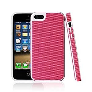 LX Basketball Grain Pattern Hard Case for iPhone5/5C Color Blue by heywan