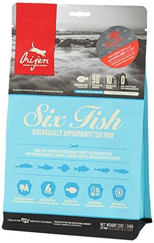 Orijen 6 Fish Trial Size for Cats 12 Ounces