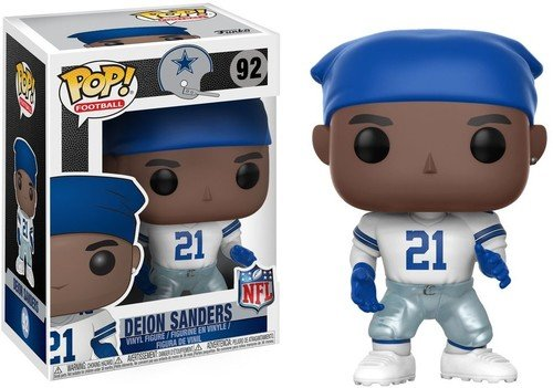 Funko Pop NFL: Deion Sanders (Cowboys Home) Collectible (Nfl Video Game)