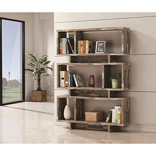 Cheap Coaster 800846-CO 3 Shelf Modern Bookcase, Salvaged Cabin