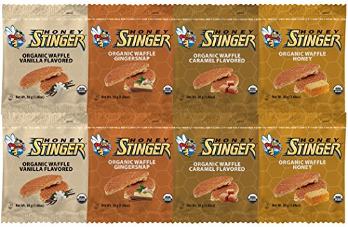 Honey Stinger Waffle 4 Flavor Variety Pack (Pack of ()