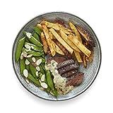 Amazon Meal Kits, Steak Au Poivre with Parmesan Fries & Snap Peas, Serves 2