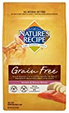Nature'S Recipe Grain Free Dry Cat Food, Salmon And Potato Recipe, 5-Pound