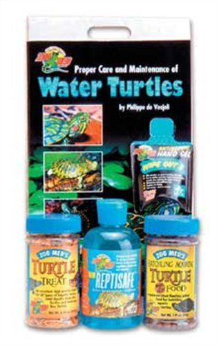 Zoo Med Aquatic Turtle Starter Kit for Hatchlings (Turtle Kit Starter)