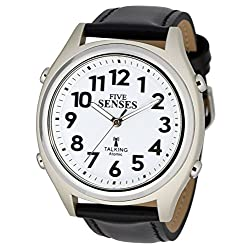ATOMIC Talking Watch - Sets Itself FIVE SENSES unisex Talking Watch (SENS-RCTK-P201-13)(M104)