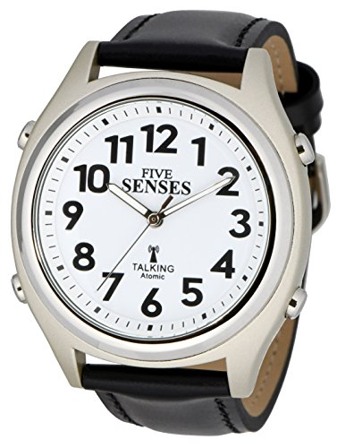 ATOMIC Talking Watch - Sets Itself FIVE SENSES unisex Talking Watch (SENS-RCTK-P201-13)(M104)
