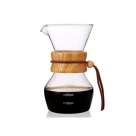 Coffee Filter304 Coffee Filter Vidrio Resistente al Calor Cafetera ...