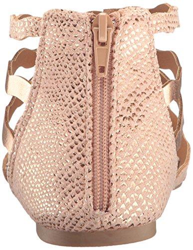 Gladiator Women's Lana Gold 449 Rose Qupid Sandal Crinkle Eme tR1ZwqtUx