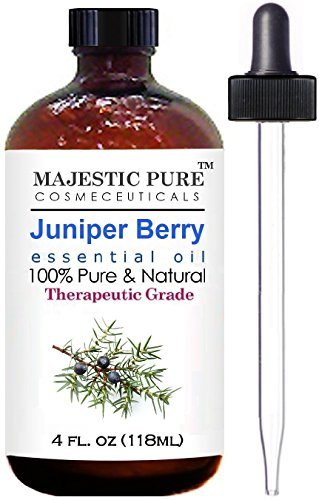 Majestic Pure Juniper Oil, Premium Quality, 4 fl. oz