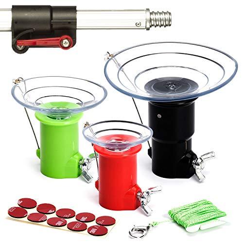 STAUBER Best Light Bulb Changer Kit with Extension Pole - 12 Feet