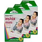 30 Sheets/Pack Fujifilm Instax Mini Film For Fuji Instant Film Camera