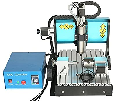 JFT 3040 4 Axis+1.5kw Spindle+USB port+mach3? Cnc wood router/ metal stone Engraving carving Machine