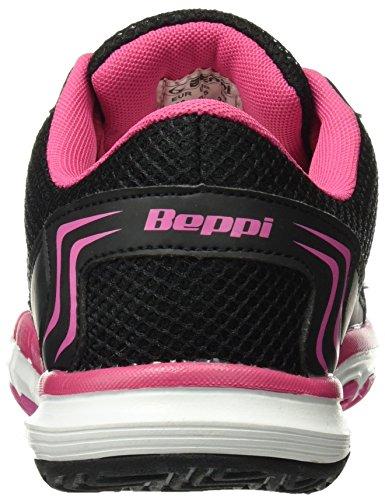 BEPPI Sport 2136831, Zapatillas de Deporte para Mujer Negro (Black)
