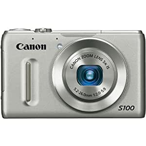 Canon PowerShot S100 12.1 MP Digital Camera with 5x Wide Angle Optical Image Stabilized Zoom (Silver)