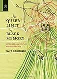 The Queer Limit of Black Memory, Matt Richardson, 0814212220