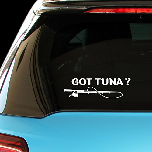 GOT TUNA Fish Fishing Car Laptop Wall Sticker