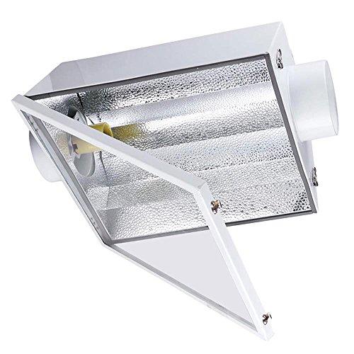Cheap MegaBrand 6″ Grow Light Air Cooled Reflector Hood w/ Glass