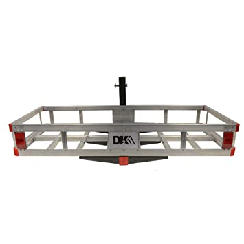 678ea07f77a21 HCC502A Aluminum Hitch Mounted Cargo Carrier