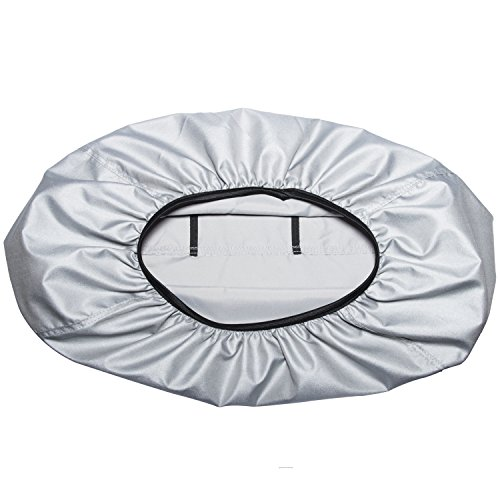 Yoursme Generator Waterproof Cover for Honda Generator EU3000is Predator 3500 Silver Outdoor Power Equipment Storage Replace 08P57-ZS9-00S by Yoursme (Image #2)