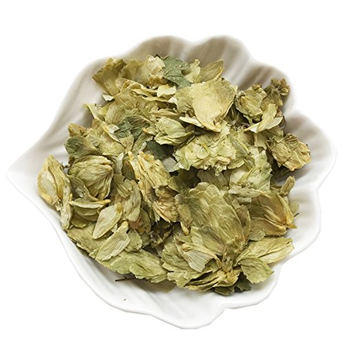 PEPPERLONELY 1 oz Organic Kosher Certified Botanical Dried Edible Hop Flowers ()