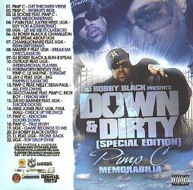 DJ Bobby Black presents Pimp C Memorabilia: The Sweet Jones Collection - Down & Dirty Special Edition [Mixtape]