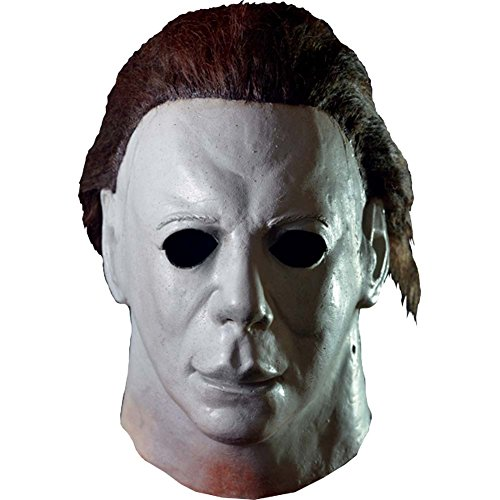 Loftus International Trick or Treat Studios Halloween II Hospital Full Head Mask Grey One-Size Novelty -