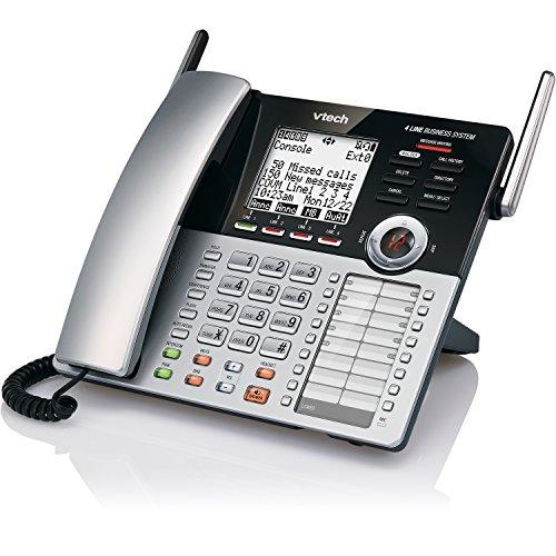 VTech 4-Line Small Business Phone System - Office Starter Bundle with  1 CM18445 Main Console, 1 CM18245 Deskset & 1 CM18045 Handset by VTech (Image #13)