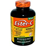 American Health Ester-C with Citrus Bioflavonoids - 1000 mg - 180 Vegetarian Tablets by American Health
