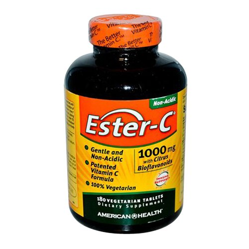 American Health Product Ester C 1000mg with Citrus Bioflavonoids, 180 (Health Products)