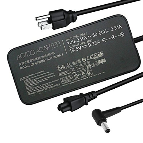 Llamatec 19.5V 9.23A 180W laptop Charger ADP-180MBF FA180PM111 AC power Adapter For Asus ROG G750JM G751JM G750JS (180w) (180W) by Llamatec