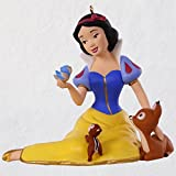 Hallmark Disney Snow White and the Seven Dwarfs 80th Anniversary Porcelain Ornament keepsake-ornaments Movies & TV