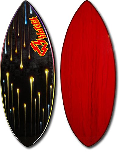 Skimboard / Carbon Fiber / Custom Art Design / Skim Board by Slotstik by East Coast Skimboards