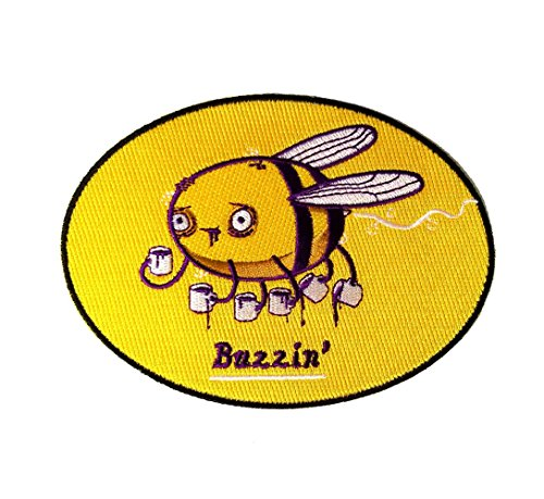 Bee Bumble Embroidered (