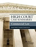 High Court Case Summaries on Commercial Law, Keyed to Whaley, 10th, Publishers Editorial Staff, 0314290648