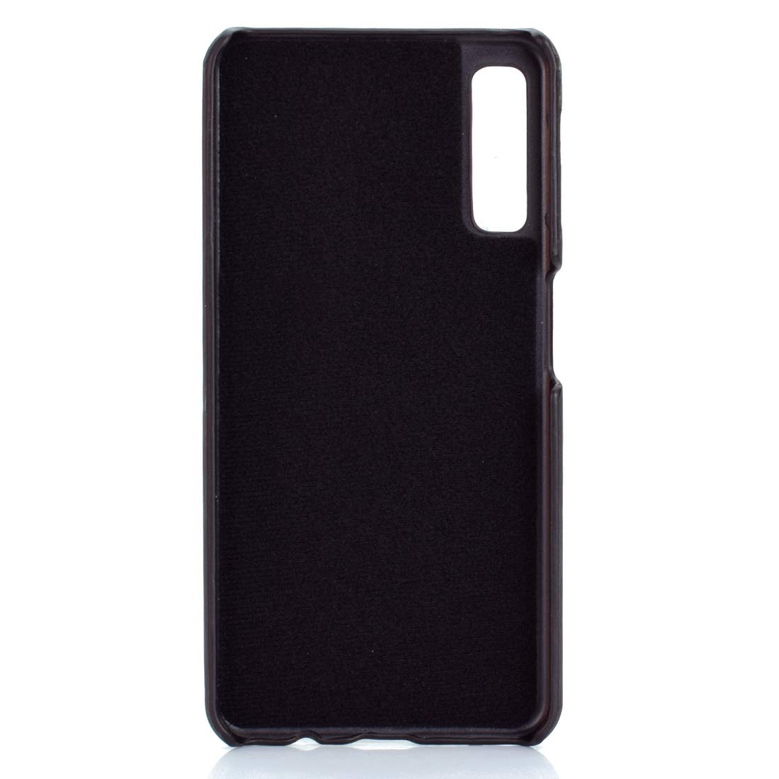 For Galaxy Paste Skin Color : Black blue PC Thermal Sensor Discoloration Case for Samsung A50 lyh Black red