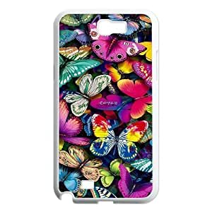 Beautiful butterfly Popular Case for Samsung Galaxy Note 2 N7100, Hot Sale Beautiful butterfly Case