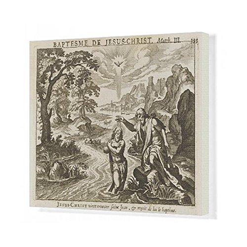 20X16 Canvas Print Of Baptism Jesus/royaumont (625560) by Prints Prints Prints
