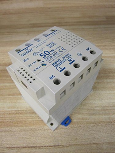 Idec PS5R-D24 DIN-Rail Switching Power Supply, 50W @ 24VDC Out, 100-240V In