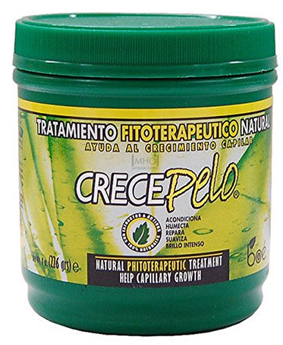 3 Pack BOE Crece Pelo Natural Phitoterapeutic Treatment for Hair Growth 16oz