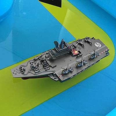 Bueontoys 2.4GHz RC Remote Control Military Boat Ship Aircraft Carrier