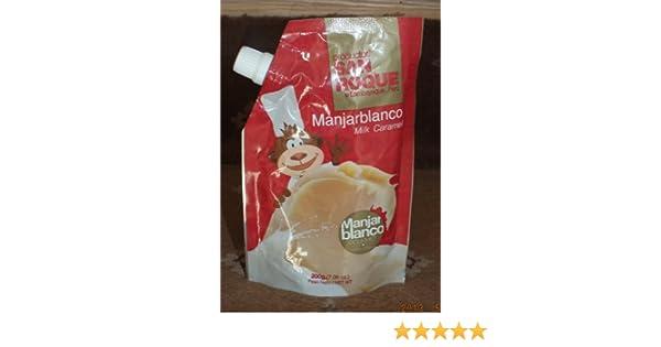 Amazon.com : Manjar Blanco Bazo Velarde (Dulce de Leche) - Manjarblanco - 200 g : Dessert Caramel Sauces : Grocery & Gourmet Food