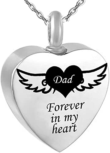 Dad Mom Grandma Sister Gold Forever In My Heart Family Charm Pendant Necklace